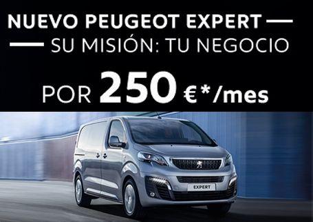 NUEVA PEUGEOT EXPERT POR 250€/MES CON MANTENIMIENTO , CLIMATIZADOR ,Y RADIO INCLUIDO