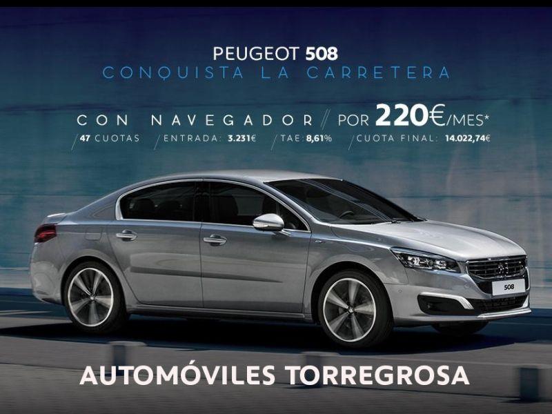 DISFRUTA DE UN PEUGEOT 508 POR 220 €/MES