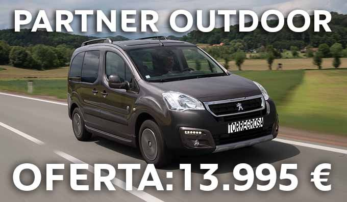 PEUGEOT PARTNER OUTDOOR POR 13.995 €.