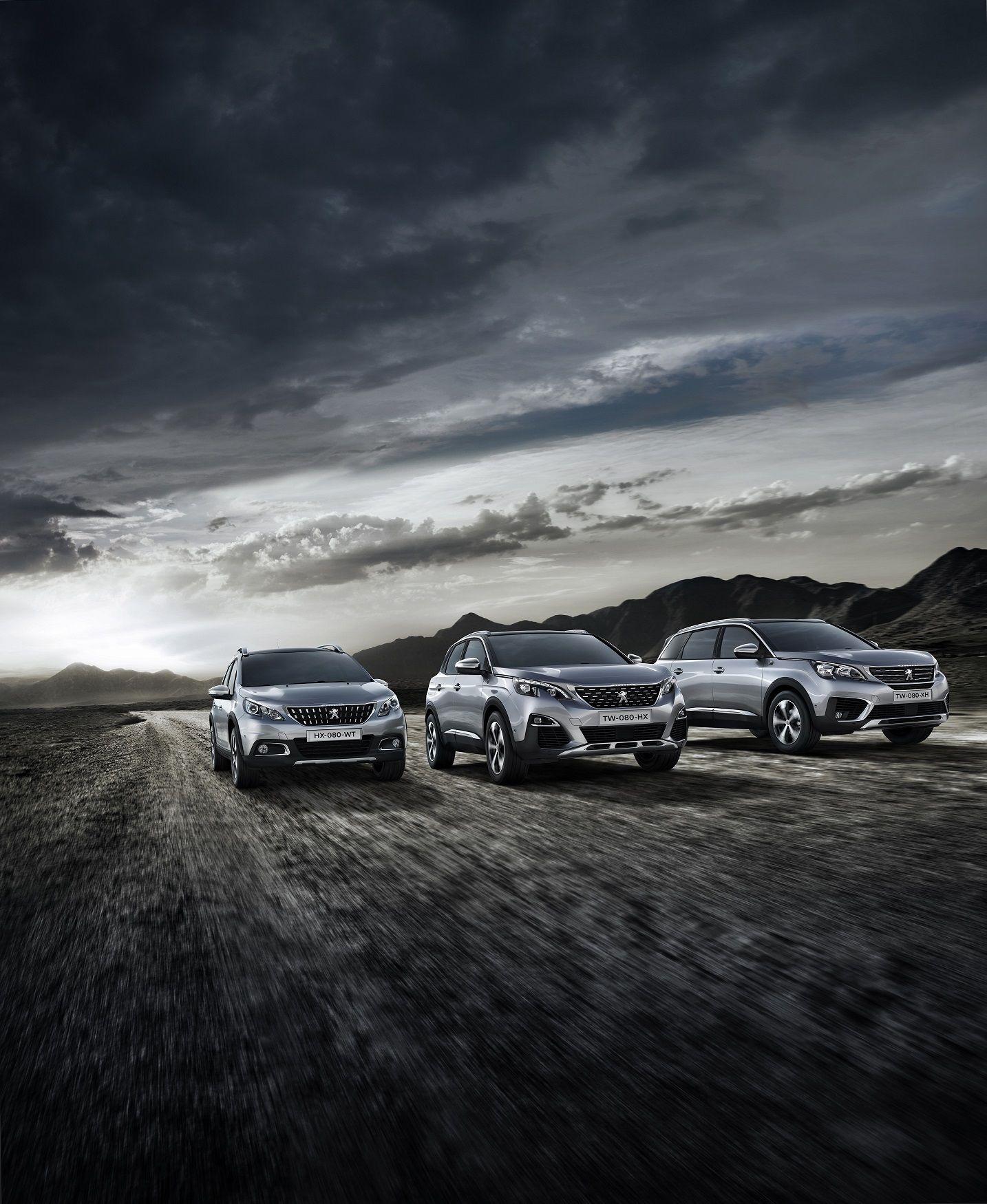 Crossway, una serie especial tecnológica y aventurera para la gama SUV Peugeot