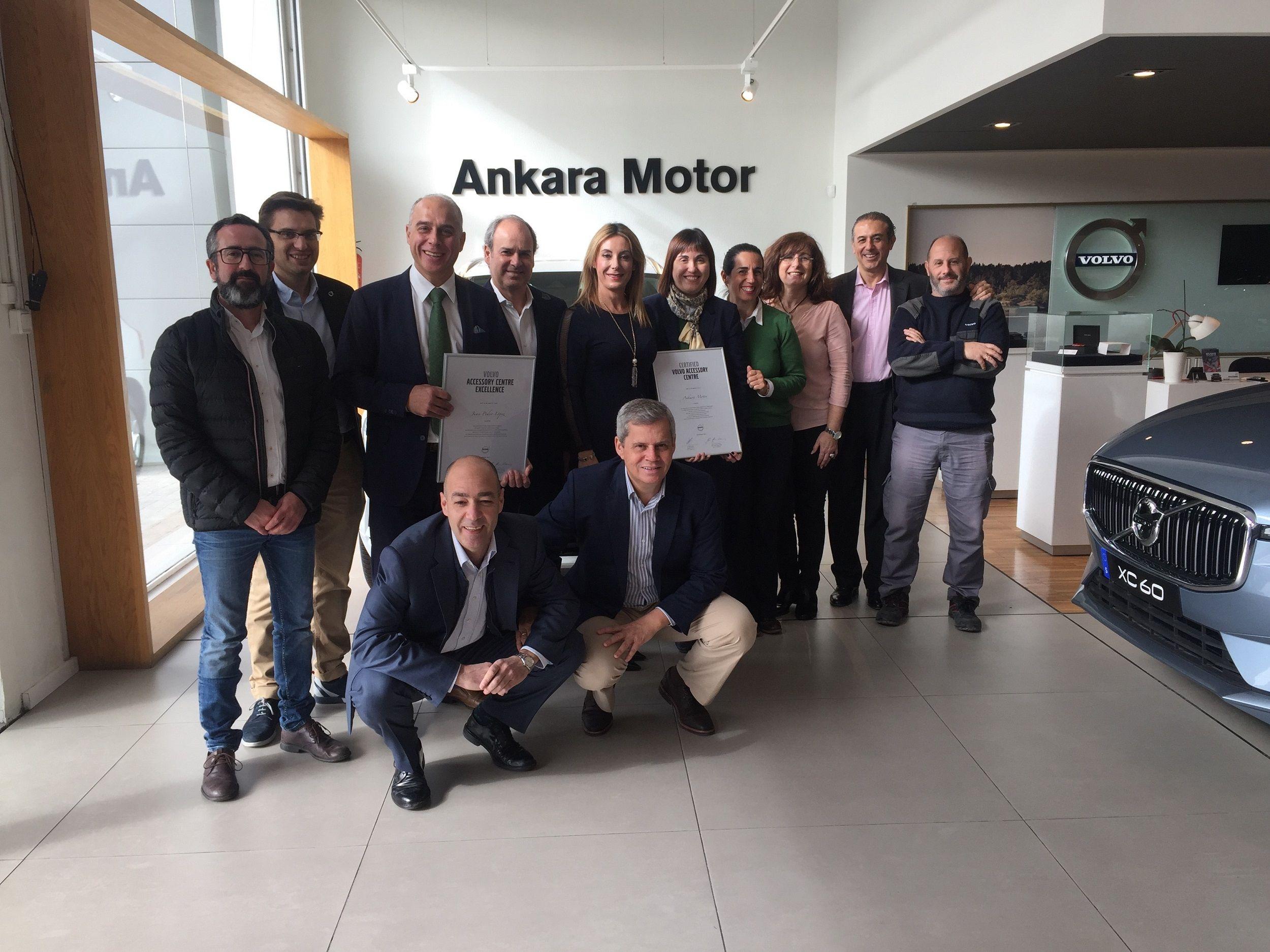 VOLVO Ankara Motor certificado como Accesory Centre Excellence