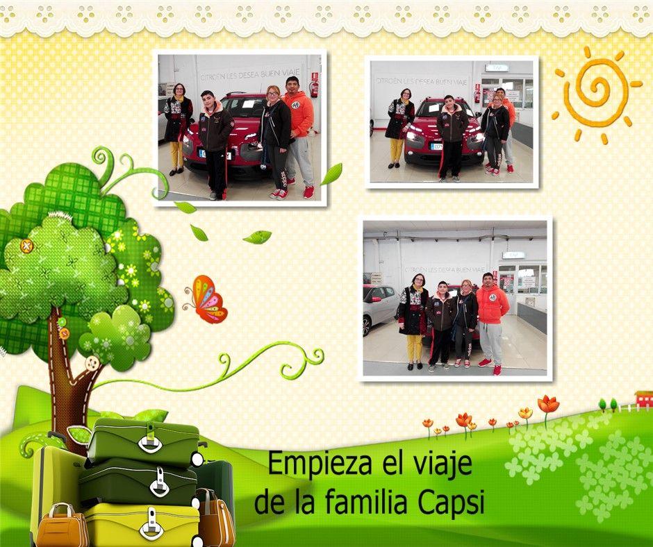 LA FAMILIA CAPSI YA DISFRUTA DE SU IMPRESIONANTE C4 CACTUS