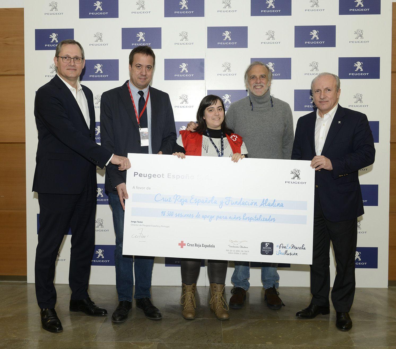 La campaña 'Control de Invierno gratis y solidario' de Peugeot recauda 98.500 sesiones de apoyo para niños con largas hospitalizaciones
