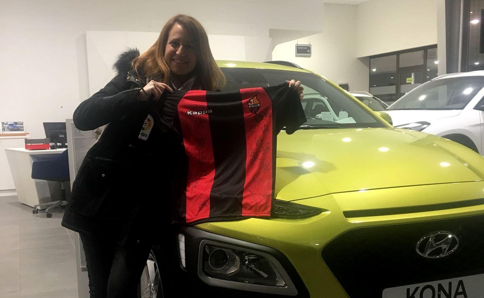 Ya tenemos ganadora del sorteo de la camiseta del CF Reus
