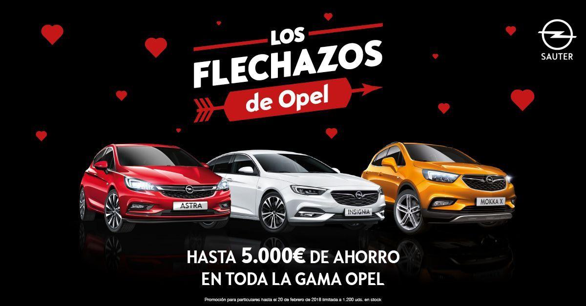 Encuentra tu coche ideal en los flechazos de Opel
