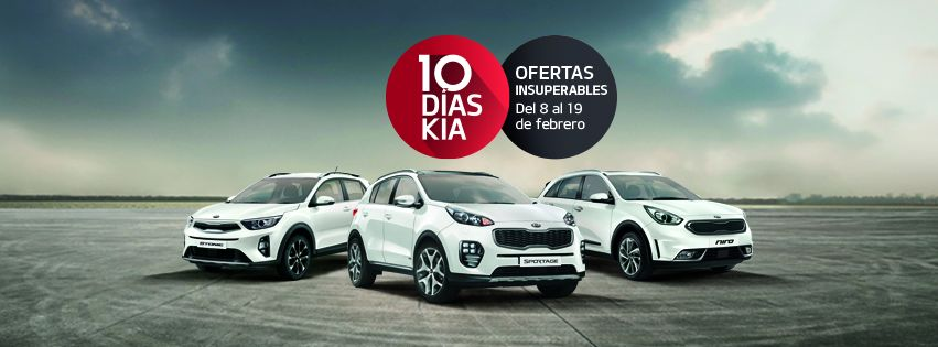 10 días KIA ya ha llegado a Granada y Jaén
