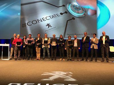 Premio a la labor Comercial por parte de Peugeot