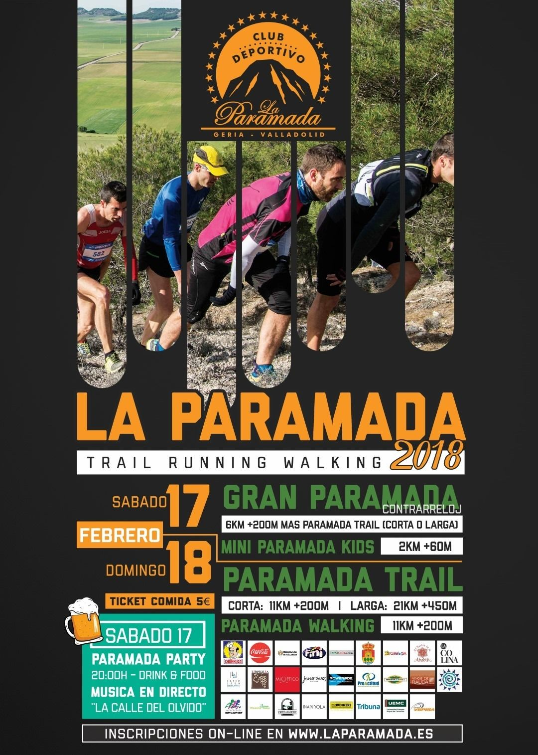 """Patrocinamos el Deporte - Carrera """"Paramada Bike 2018"""""""