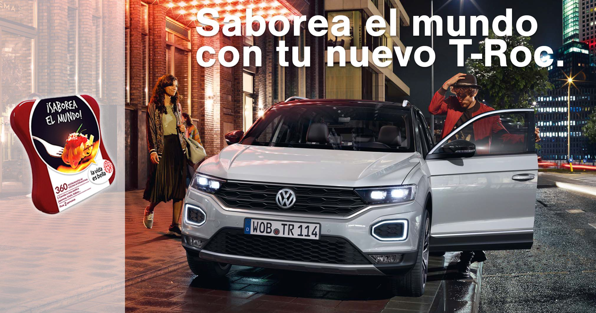 Automóviles Sánchez te invita a saborear el mundo con tu nuevo T-Roc