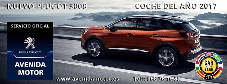 Nuevo peugeot 3008 coche del año 2017