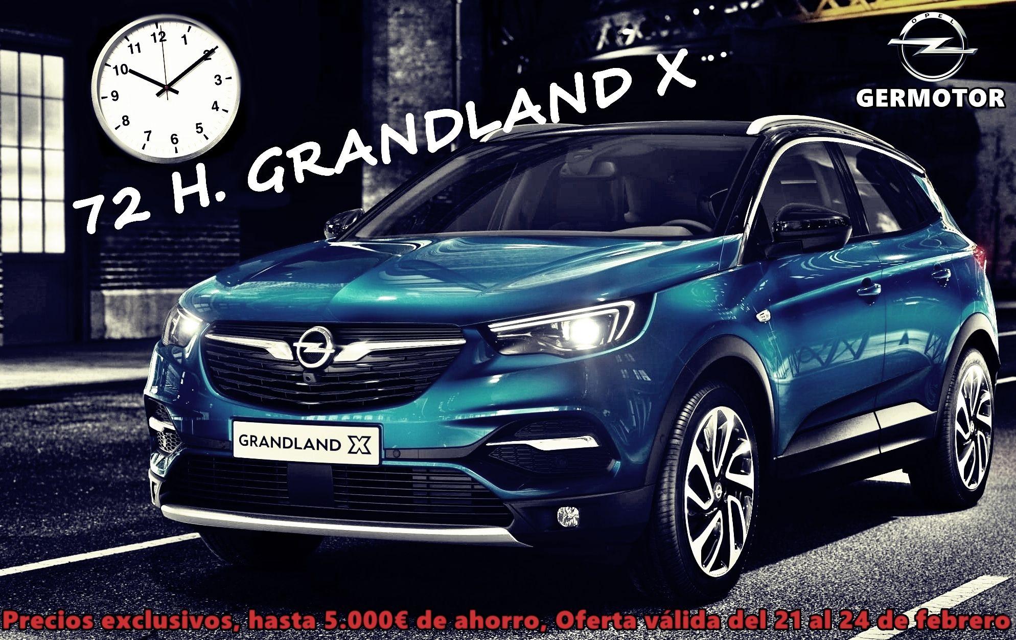 ¡EL NUEVO GRANDLAND X CON UN AHORRO DE 5.000 €!