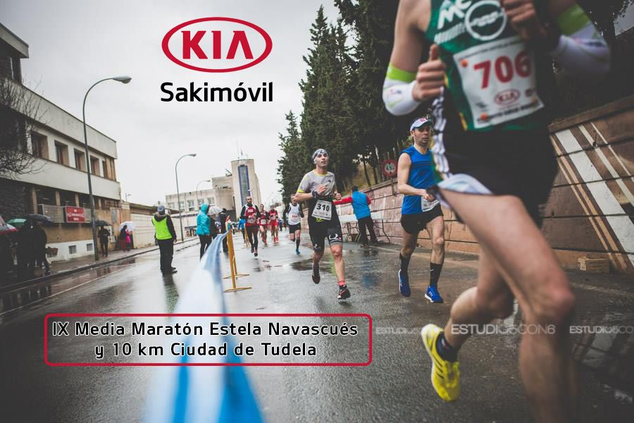 Apúntate al SORTEO DE 5 DORSALES + CAMISETA para laIX Media Maratón Estela Navascués y 10 km Ciudad de Tudela
