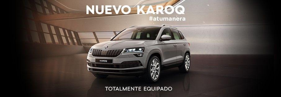 Nuevo ŠKODA KAROQ #atumanera