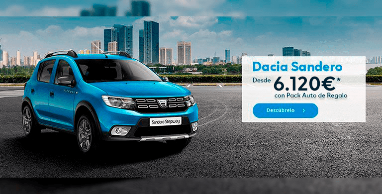 Dacia Sandero con Pack Auto de Regalo