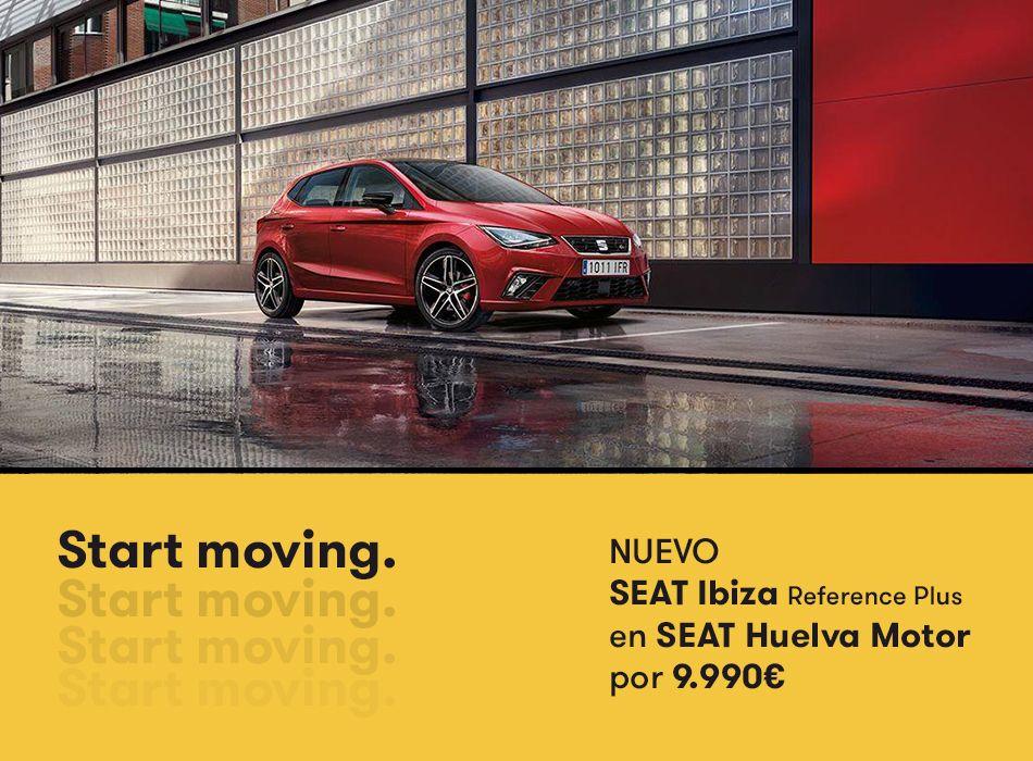 Llévate el nuevo SEAT Ibiza en Huelva Motor por 9.990 euros