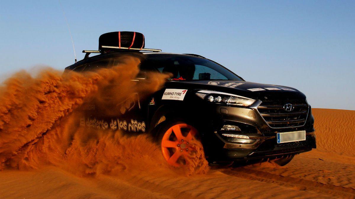 Hyundai Motor España con El Desierto de los Niños