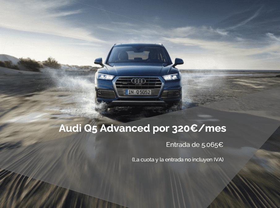 ¡Audi Q5 POR 320€/mes!