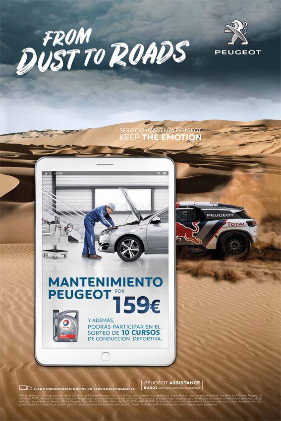 OFERTA: Mantenimiento por 159€ + Sorteo de 10 cursos de Conducción Deportiva