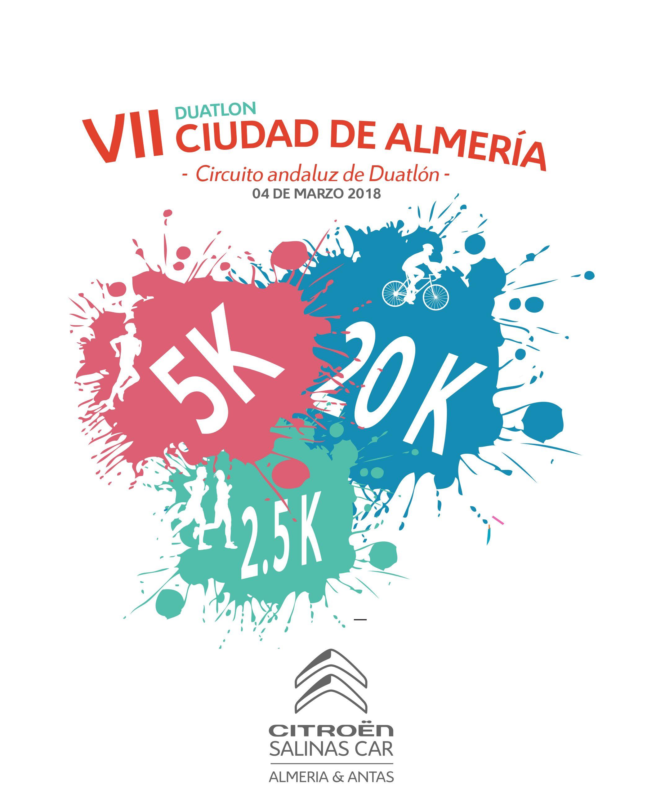 Citroën Salinas Car patrocinador oficial del VII Duatlón Ciudad de Almería