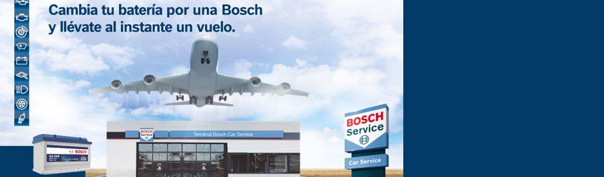 Cambia tu batería por una Bosch