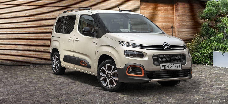 Citroën transforma en crossover a su furgoneta fabricada en Vigo junto a Opel y Peugeot