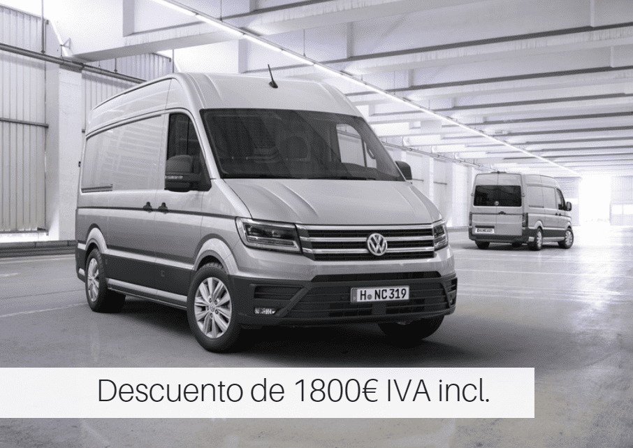 ¡SUPER DESCUENTOS EN VOLKSWAGEN CADDY Y CRAFTER!