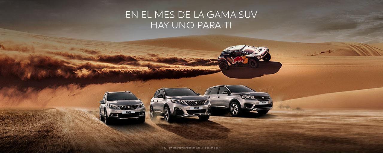 MES DE LA GAMA #PeugeotSUV en Alcalá 534