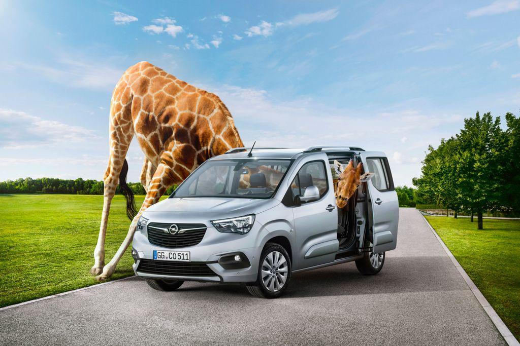 NOVEDAD: Combo Life, el nuevo coche familiar de Opel