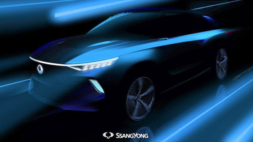 SsangYong presentará el nuevo Concept Eléctrico e-SIV
