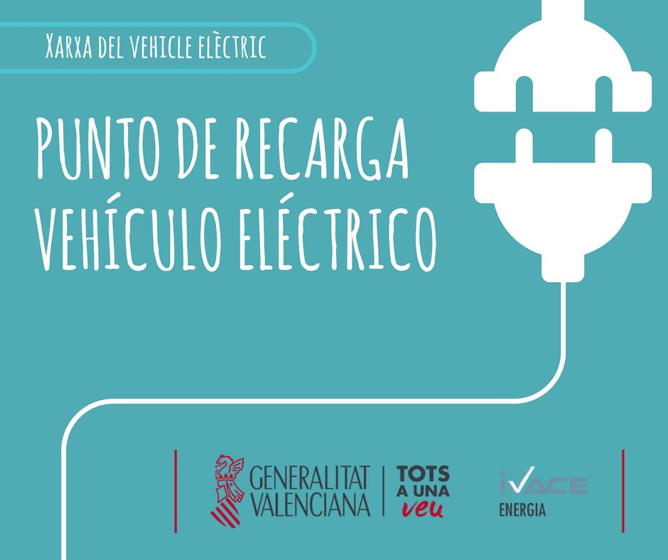 PUNTO DE RECARGA PARA VEHÍCULO ELÉCTRICO
