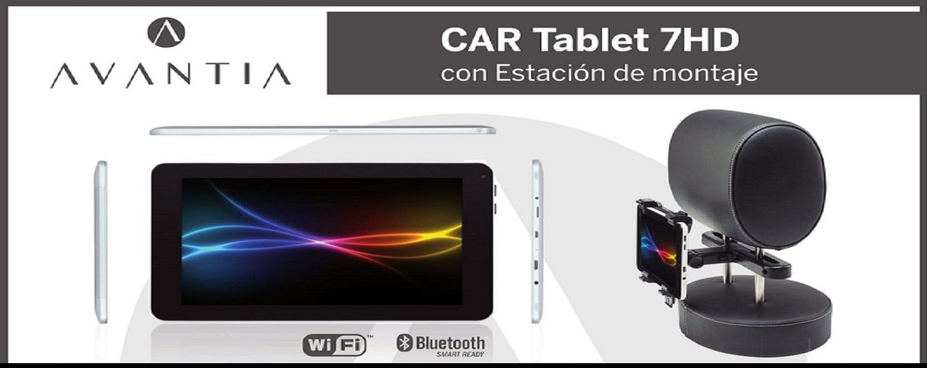 "CAR TABLET  7"" CON SOPORTE POR SOLO 99.95€"
