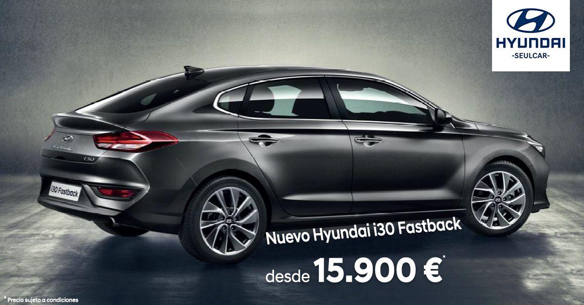 Llévate el Nuevo Hyundai i30 Fastback desde 15.900 €