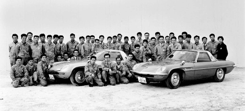 La historia de Mazda resumida en 5 nombres