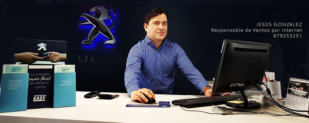 Jesus Gonzalez Responsable de Ventas por Internet