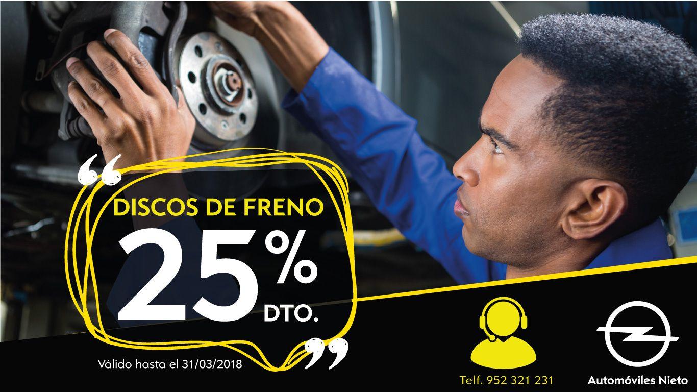 OFERTA ESPECIAL 25% DISCOS DE FRENO