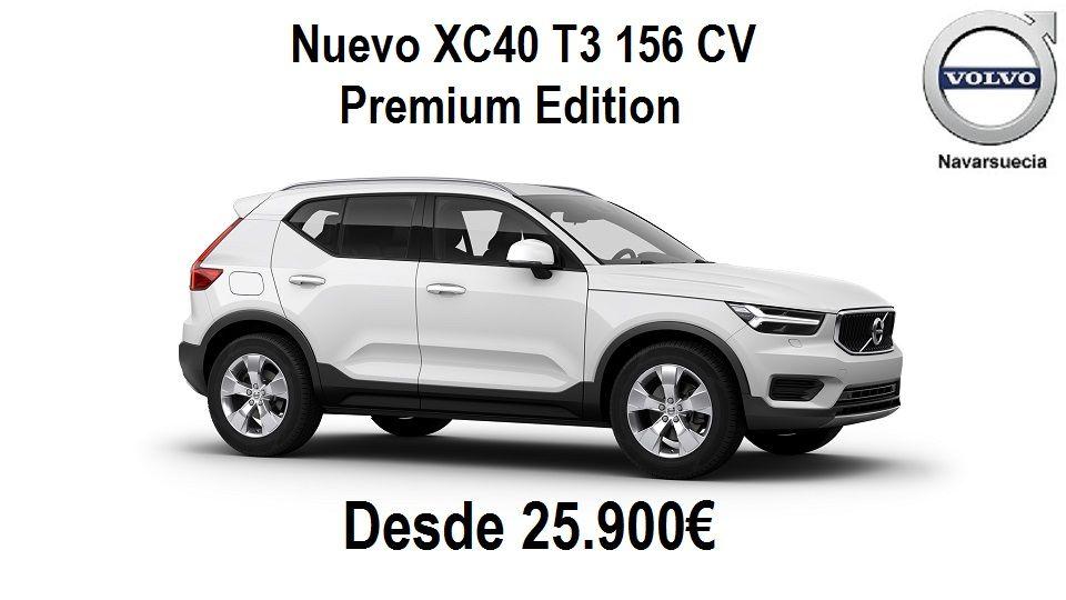 Nuevo Volvo XC40 T3 156cv Premium Edition por 25.900€