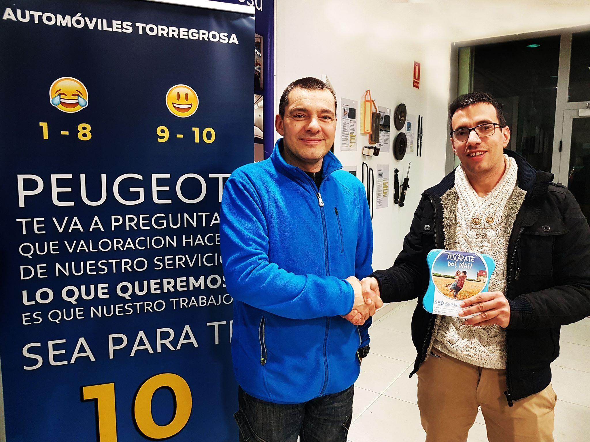 Automóviles Torregrosa premia la fidelidad de sus clientes.