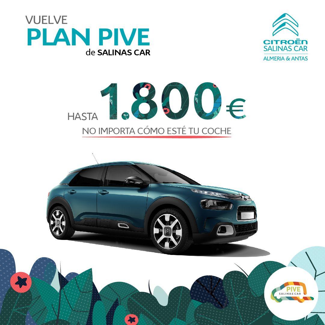 PLAN PIVE  EXCLUSIVO DE SALINAS CAR