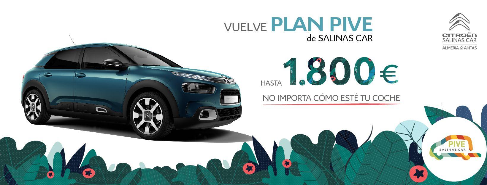 Solo hasta el 28 de marzo vuelve el PIVE exclusivo de Salinas Car