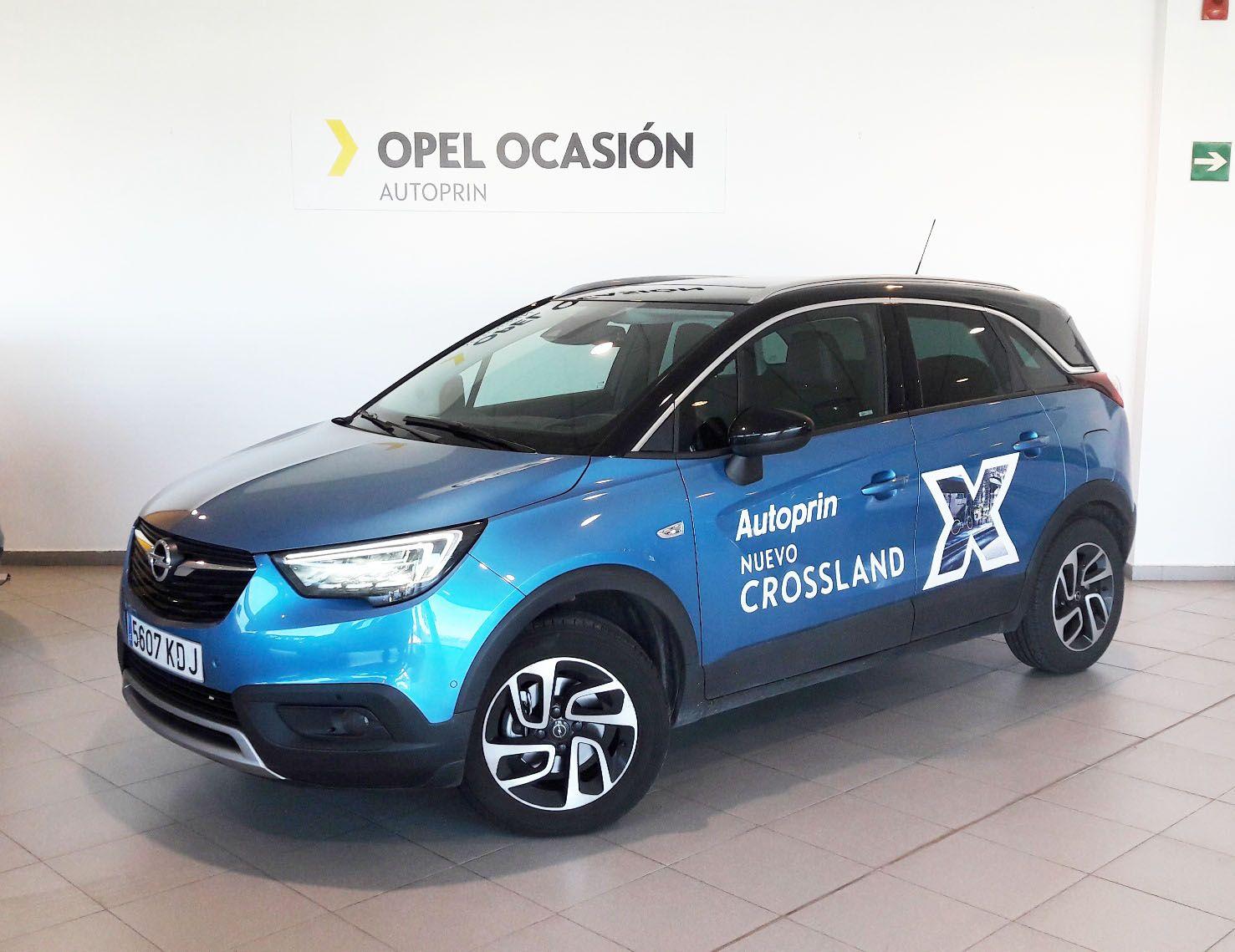 ¡Solo una unidad del nuevo CrosslandX Excellence 120CV por 19.900€!