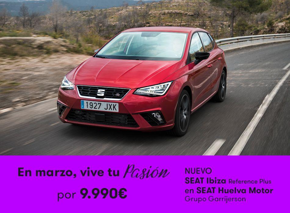 Nuevo SEAT Ibiza por 9.990 euros en Huelva Motor