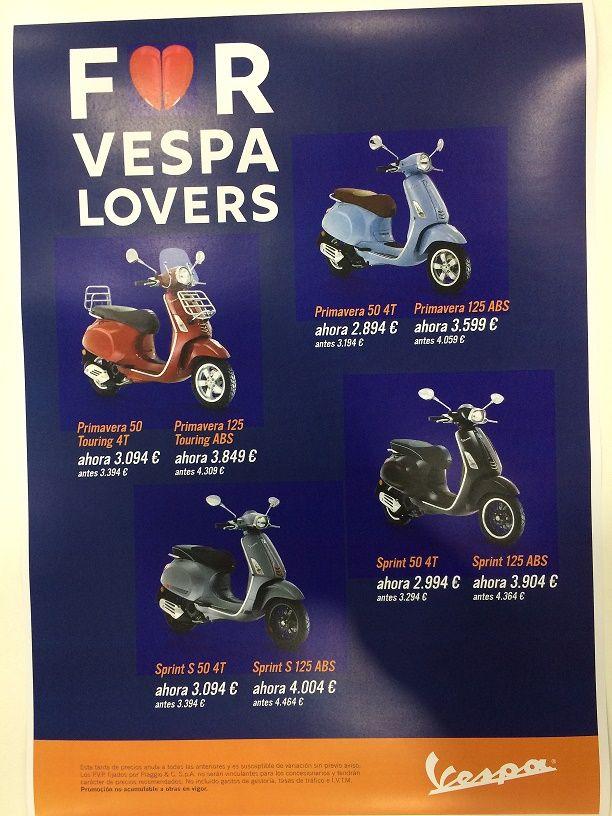 FOR VESPA LOVERS