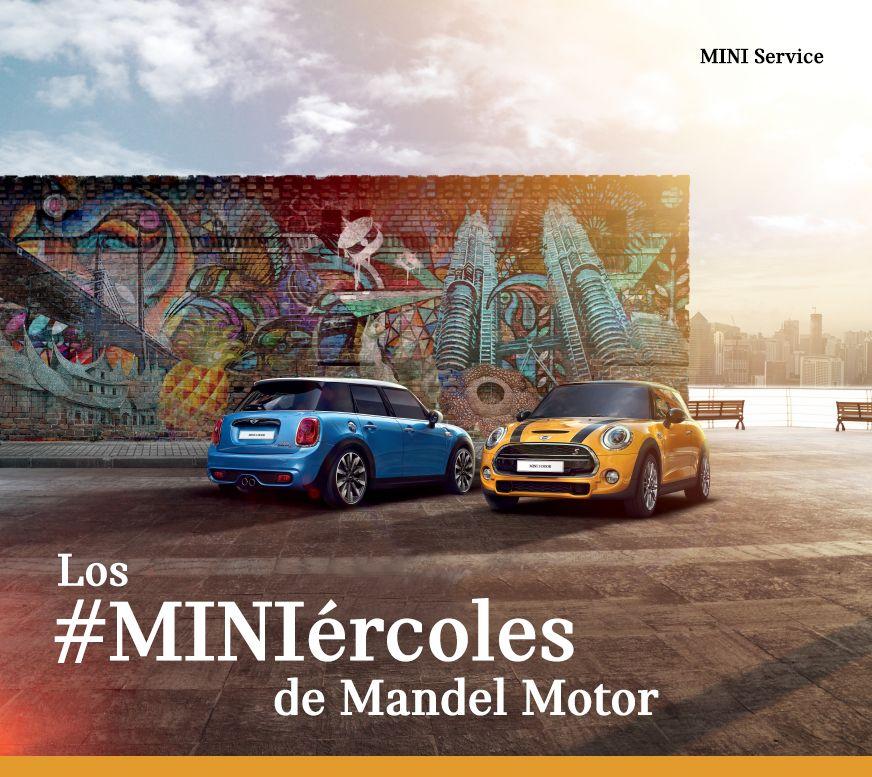 Ven al #MINIércoles de Mandel Motor