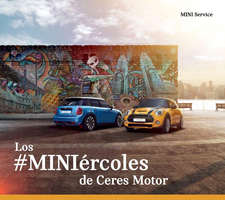 Ven al #MINIércoles de Ceres Motor