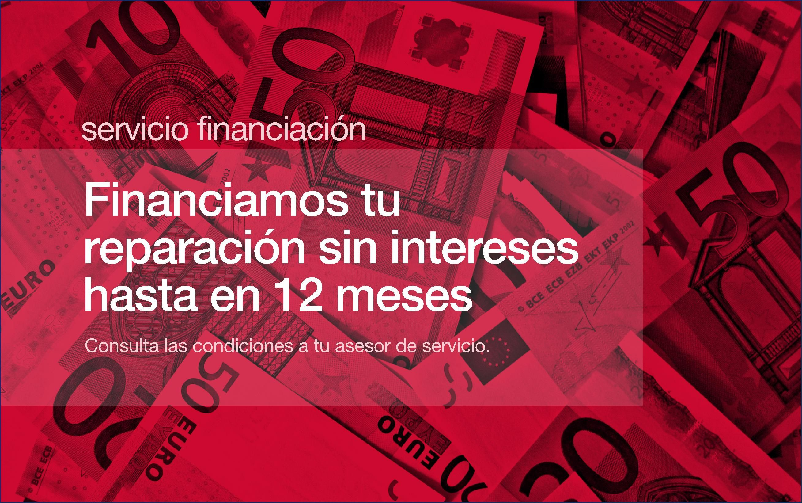 FINANCIAMOS TUS REPARACIONES SIN INTERESES !!!