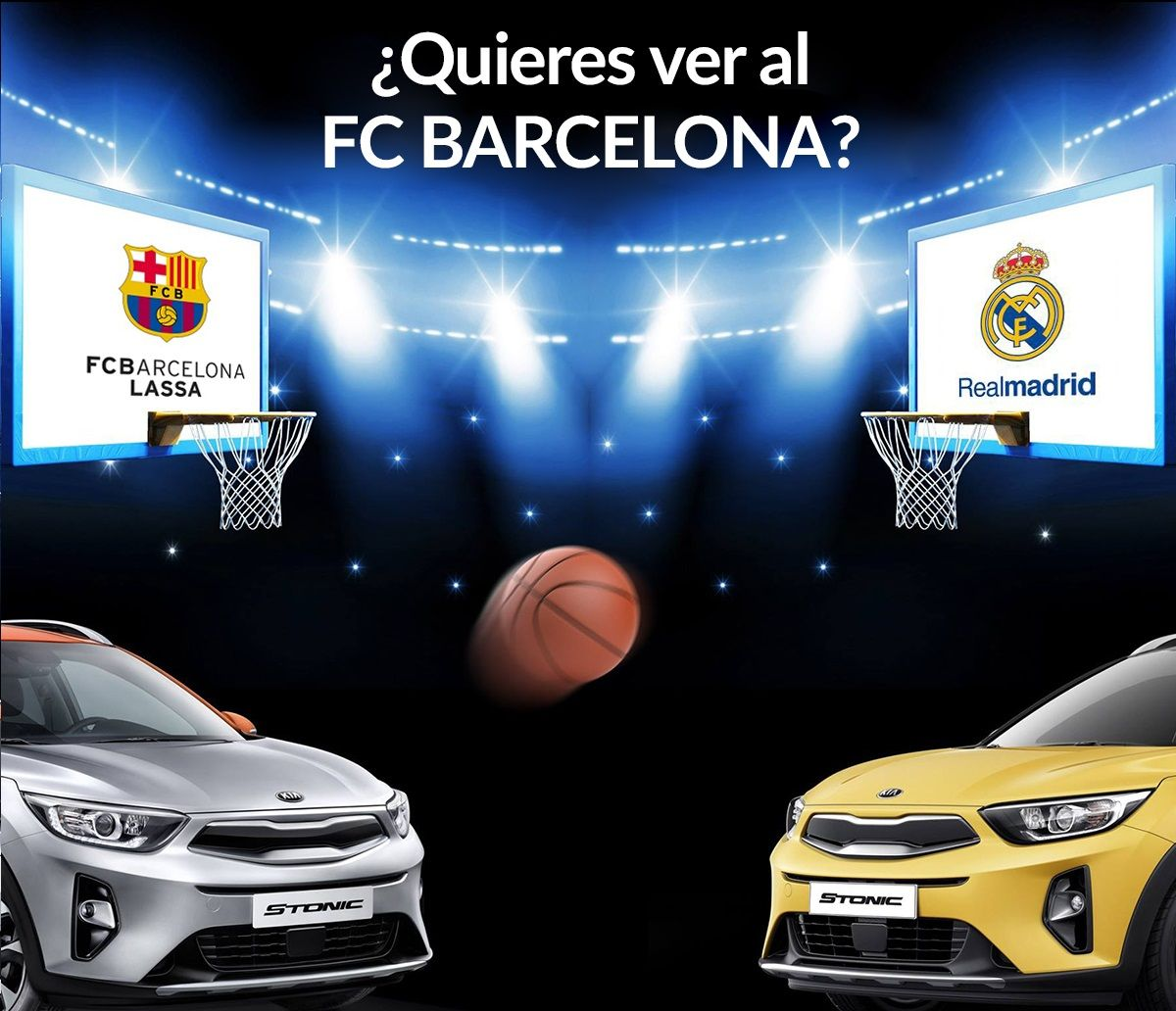 Sorteo 1 entrada doble para derbi FCB LASSA - REAL MADRID