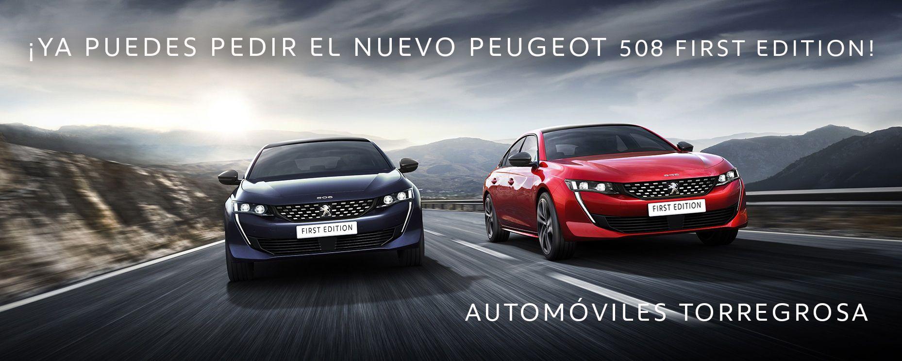 La serie limitada Peugeot 508 First Edition está disponible por 47.200 €(SOLO 120 UNIDADES PARA 12 PAISES).