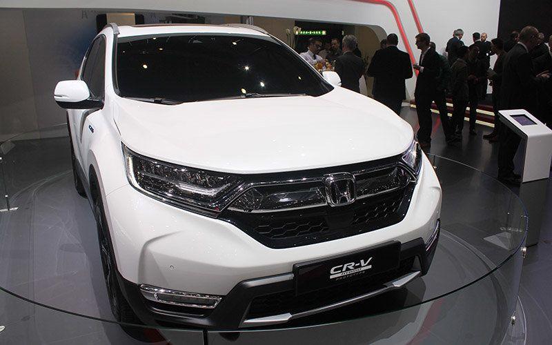 Ginebra 2018: Honda presenta el nuevo CR-V Hybrid