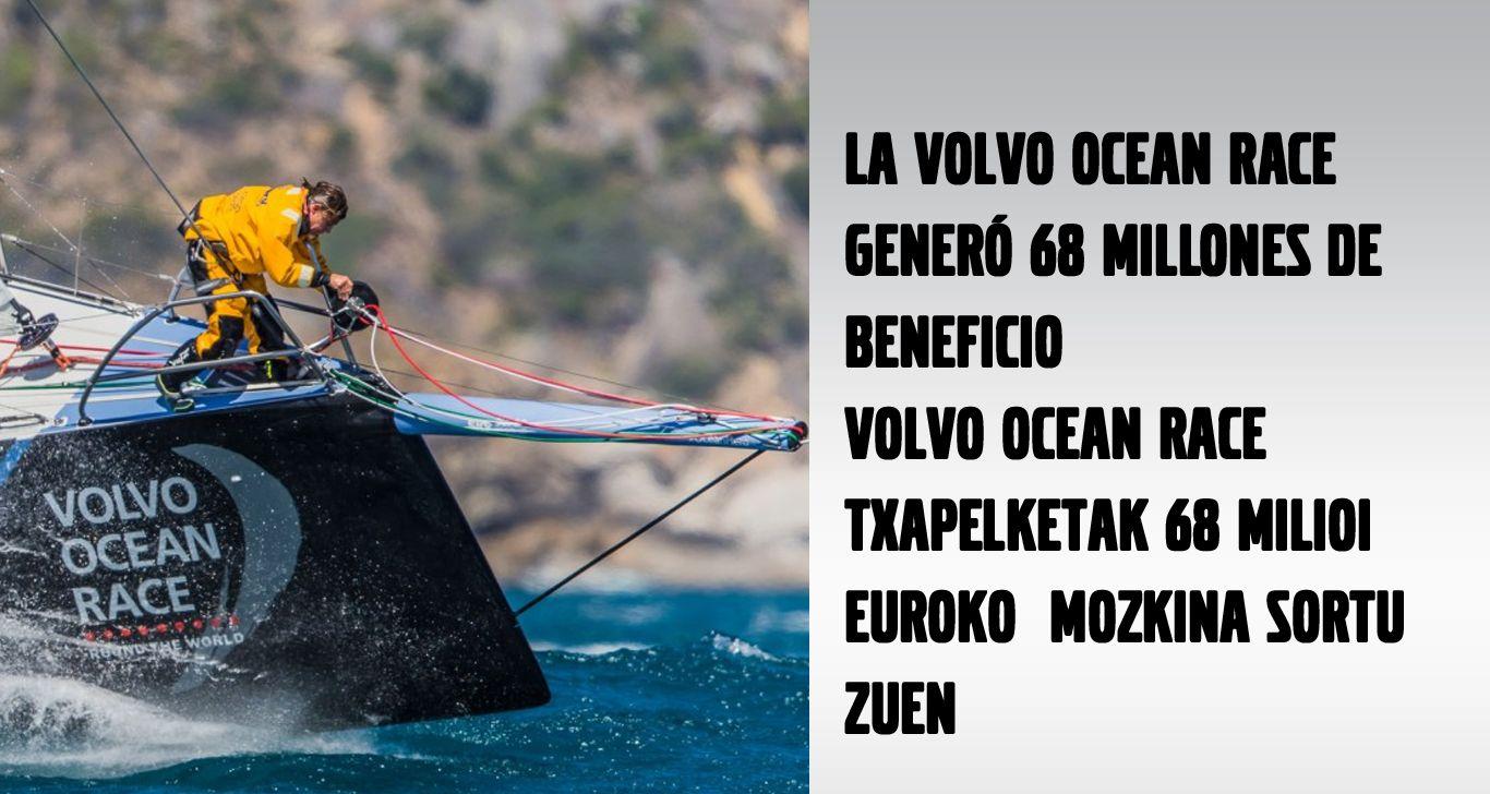 LA VOLVO OCEAN RACE GENERÓ 68 MILLONES DE BENEFICIO