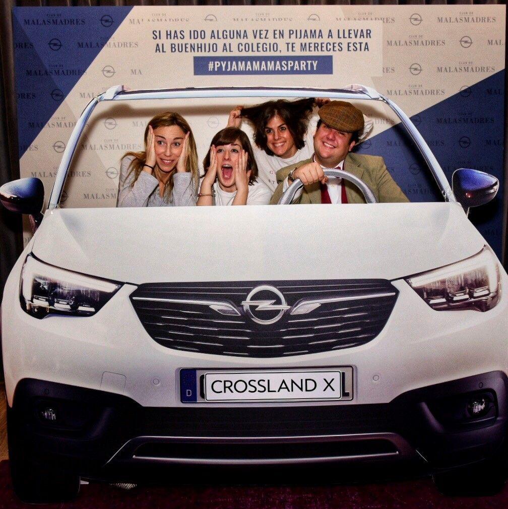 El Opel Crossland X fue la estrella en la fiesta de Malasmadres